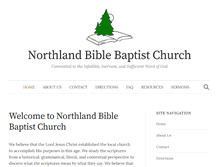 Tablet Preview of northlandbible.org